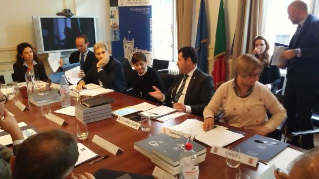 """Bruxelles: """"seduta europea"""" Consigli regionali"""