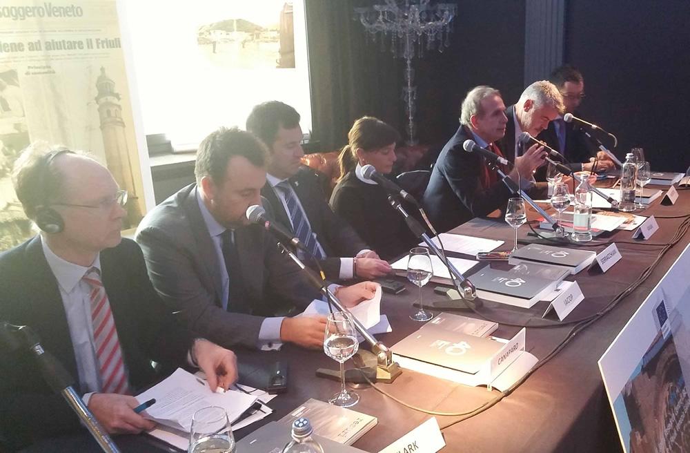Bruxelles: tavora rotonda nascita Protezione civile