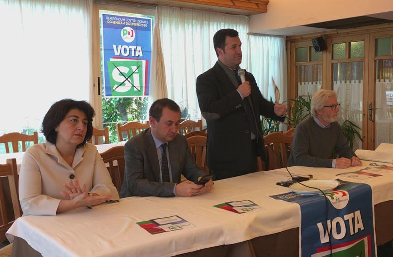 Esponenti PD per il Sì al referendum