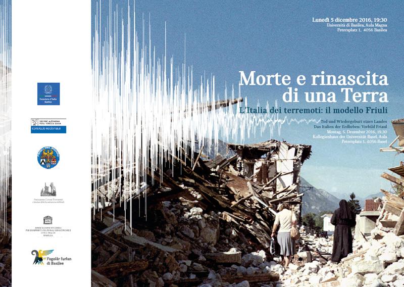 Università Basilea: Iacop relatore su ricostruzione e modello Friuli