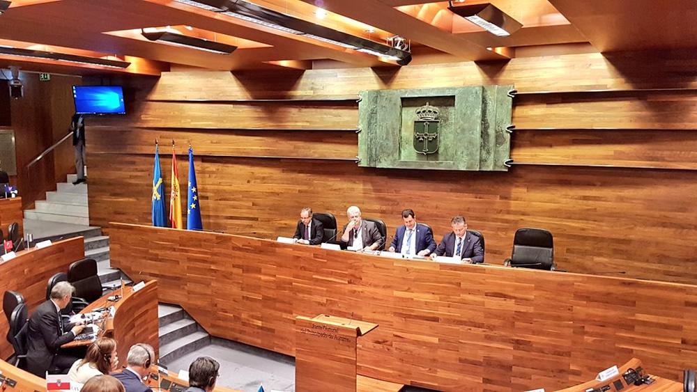 Oviedo: intervento presidente Iacop a ventennale nascita Calre