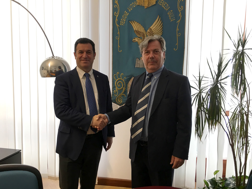 Iacop incontra il Console generale di Slovenia