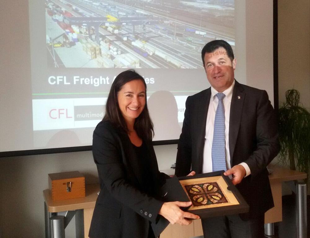 Lussemburgo: terminal scambio merci, futuro per Porto di Trieste