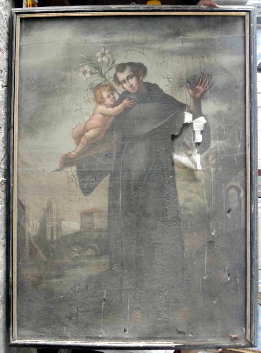 Conferenza Consigli stanzia fondi per restauro tele chiesa di Amatrice