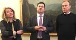 Conferenza stampa di fine anno in Consiglio regionale