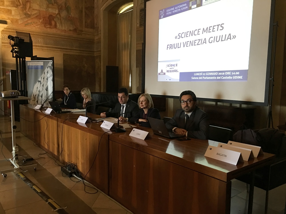 A Udine le iniziative di Science meets Regions