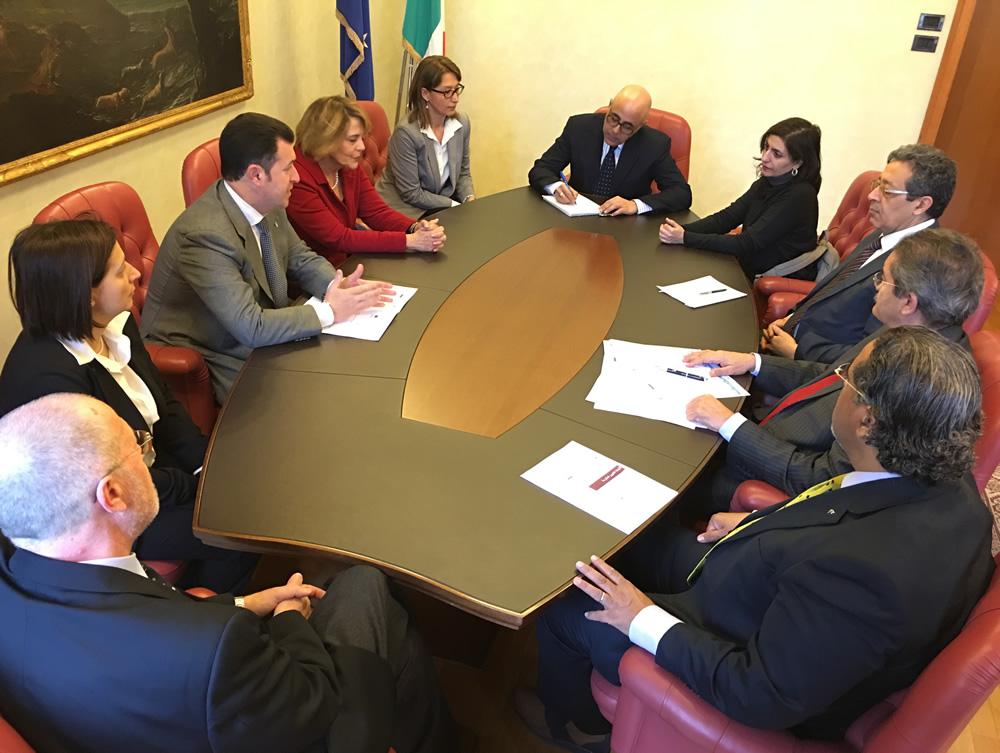Incontri istituzionali amministratori libici Iniziativa di Nicosia