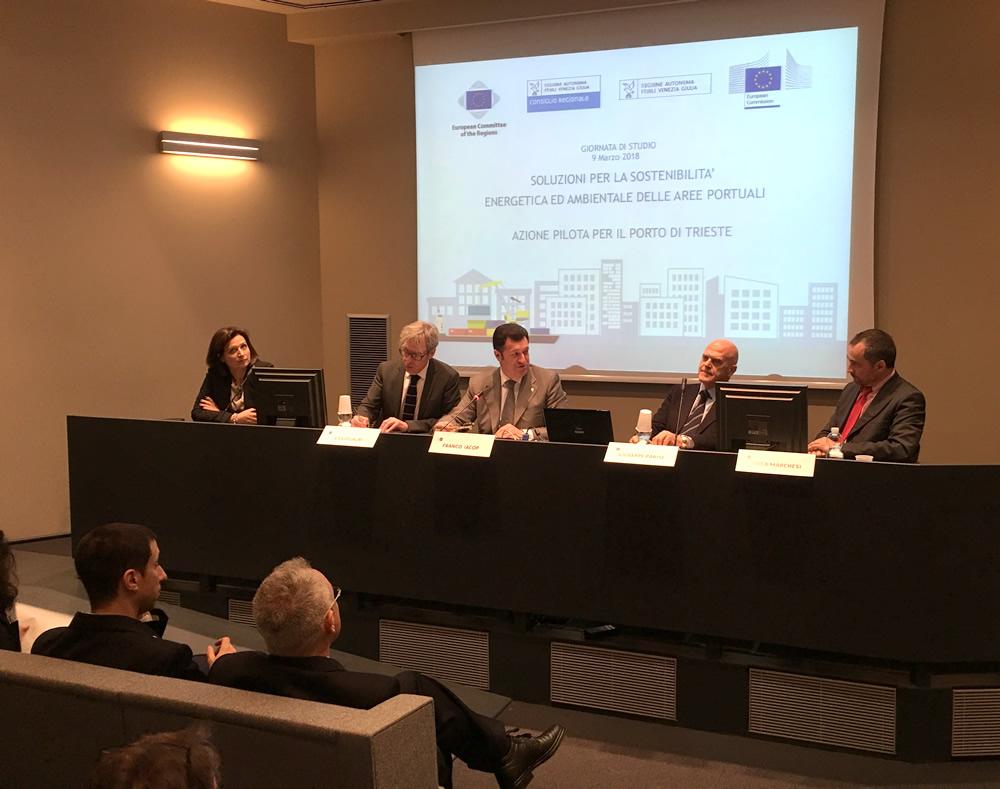 Proposte per la sostenibilità energetica e ambientale del porto di Trieste